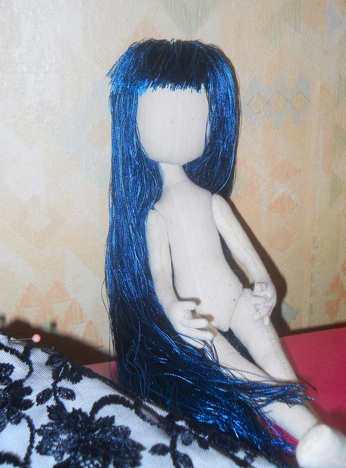 Пошив текстильной куклы