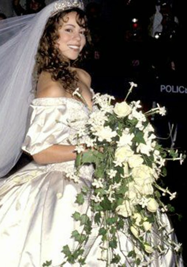 vestidos de novia boda Mariah Carey hermanas bolena
