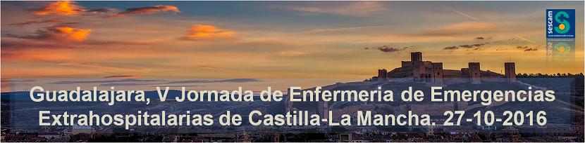 Guadalajara, V Jornada de Enfermeria de Emergencias Extrahospitalarias de Castilla-La Mancha
