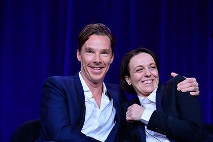 Benedict Cumberbatch, Amanda Abbington at Winter 2014 TCA Press Tour