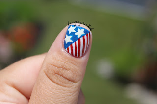 Make Your Nails Cheer For Team Usa The Style Ref The Fashion Authority For Sports Fans