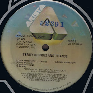 Terry Burrus and Transe - Love rockin\' 12 Inch 1983