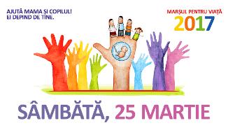 Viorel Iuga — Baptiștii din România sunt încurajați să participe la Marșul pentru Viață 2017!