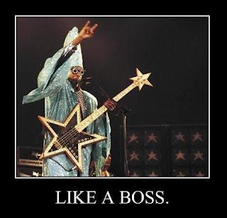 like a boss rock star