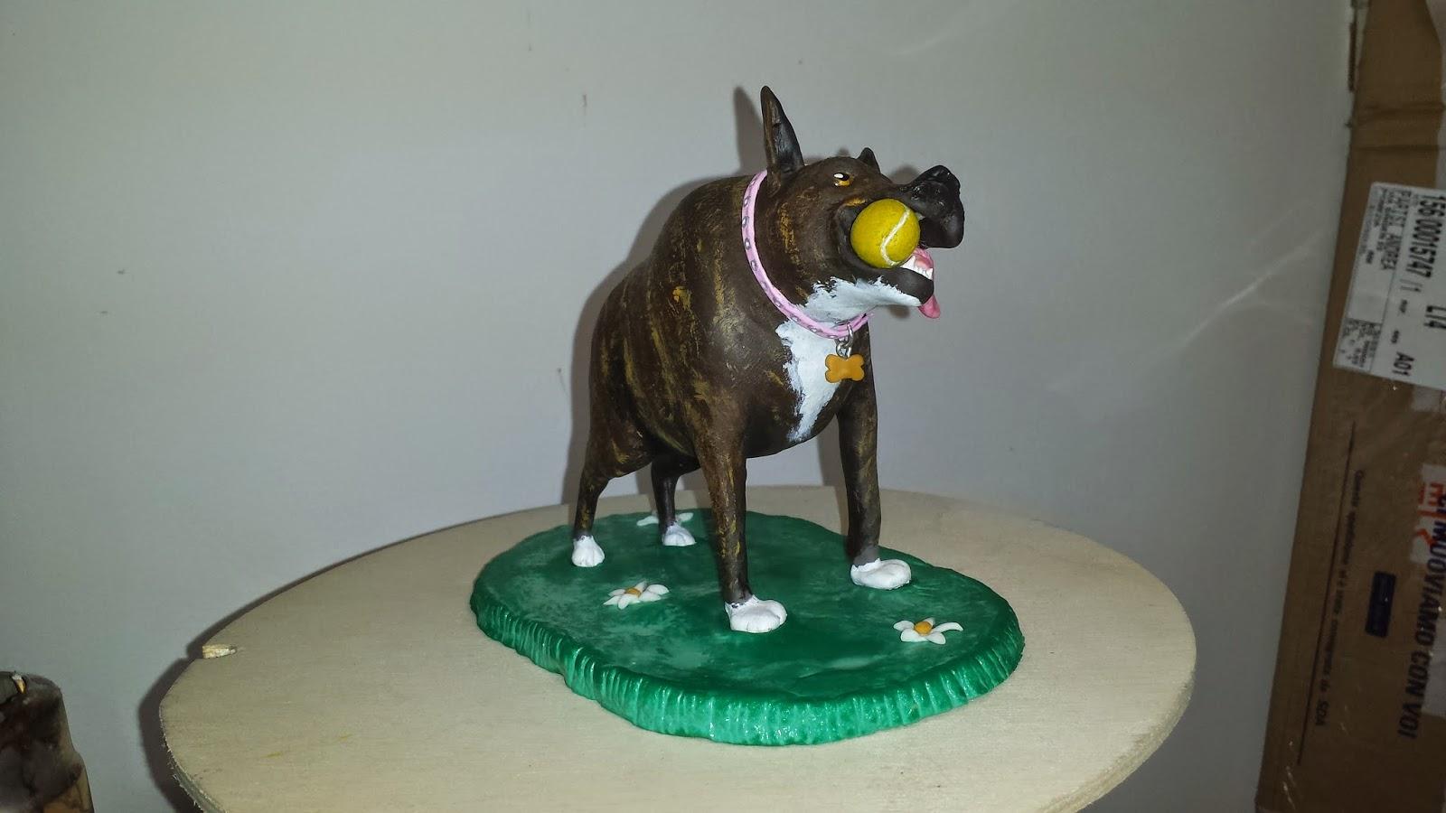 """""""Quasi"""" la cagnolina affetta dal morbo della spina corta Cake+topper+personalizzato+5"""