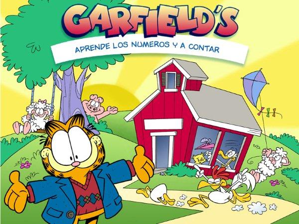 Garfield's: Aprende las Letras y las Palabras Juego infantil