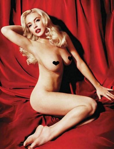 Ordered Lindsay Lohan's 'Playboy' Reshoot