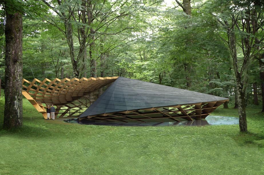 Organic Architecture Rikuzentakata Meeting House
