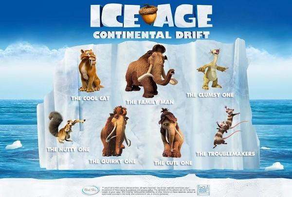 ice age 4 characters - photo #24