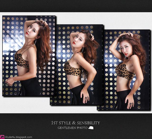 5 Hwang In Ji - Sexy Leopard-Very cute asian girl - girlcute4u.blogspot.com