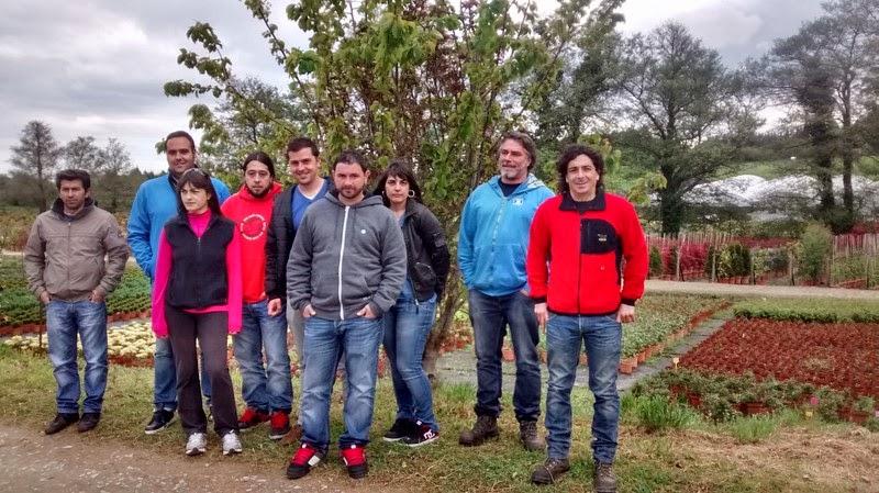 Taller de empleo somiedo en verde excursi n a un vivero for Viveros en asturias