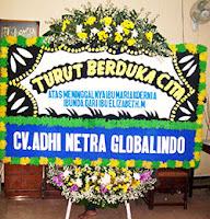 Papan Bunga Putih Kirim ke Rumah Duka Sinar Kasih Bogor