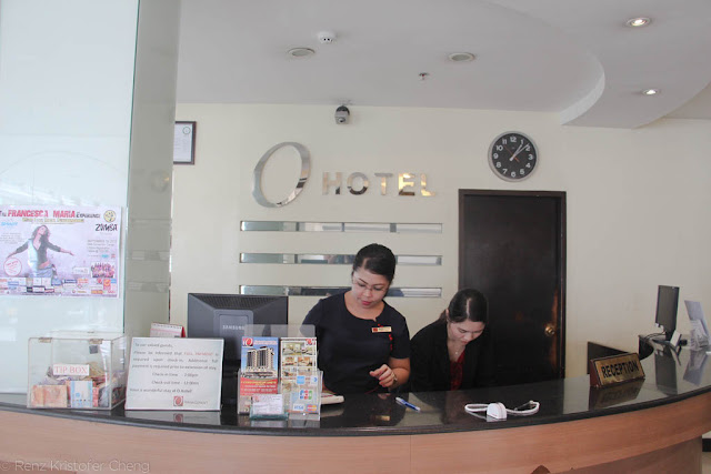 O Hotel Reception Desk - Bacolod