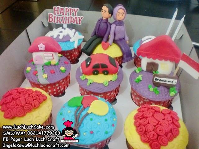 Cupcake Ulang Tahun Untuk Pasangan (Repeat Order)