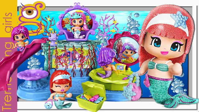 Pinypon Reino de Sirenas bajo el mar - juguetes Pinypon en español