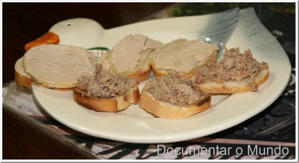 Degustação de foie gras
