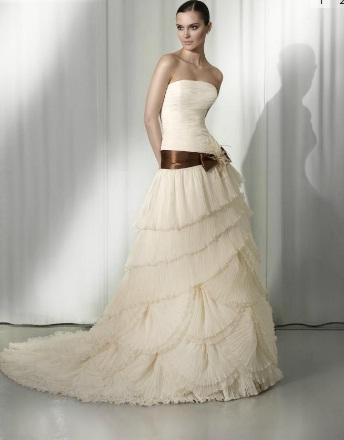 rosa blanca vestidos de novia – vestidos de noche