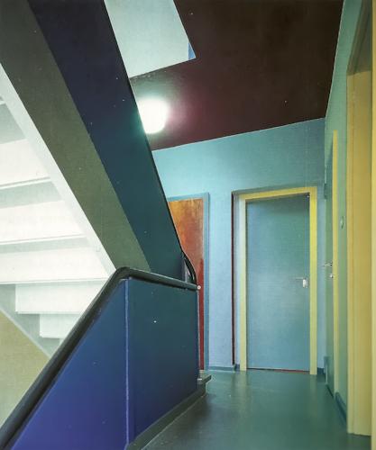 Corners of the 20th century escuela de la bauhaus 1919 1933 for Bauhaus berlin edificio