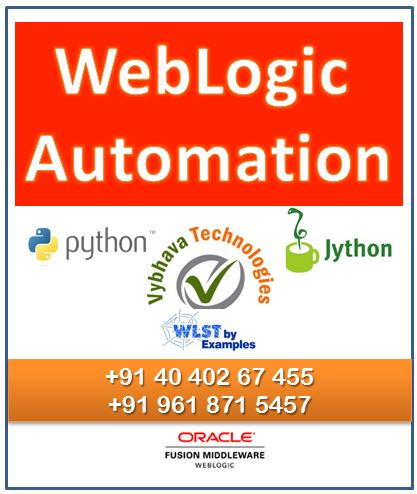 WLST Scripting Training