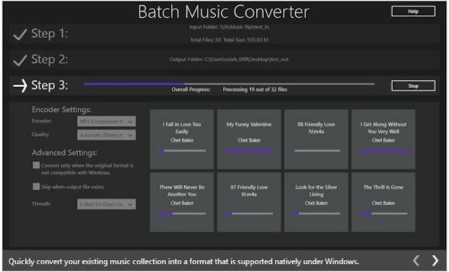 Convert Music Files in the Metro UI of Windows 8