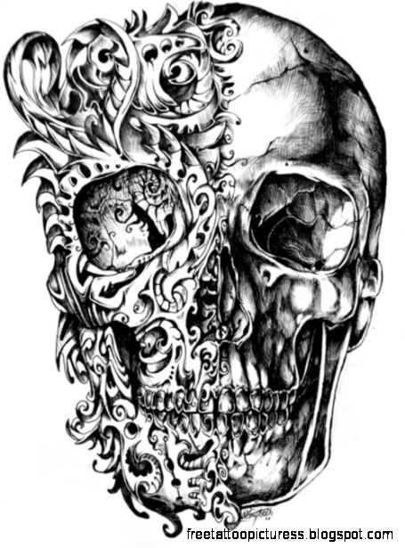 Skull hand grenade tattoo   photo download wallpaper image and