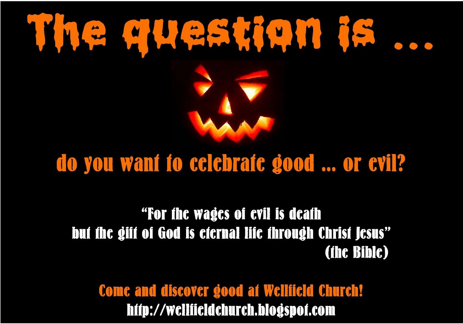 wellfield church: Halloween