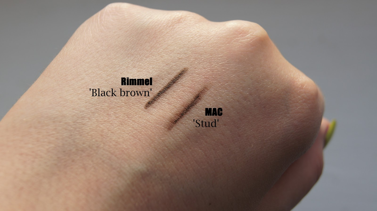 Mac Stud Eye Brows Pencil Review Swatch 5363357 Angrybirdsriogamefo
