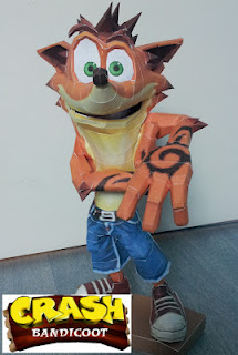 Crash Bandicoot Papercraft