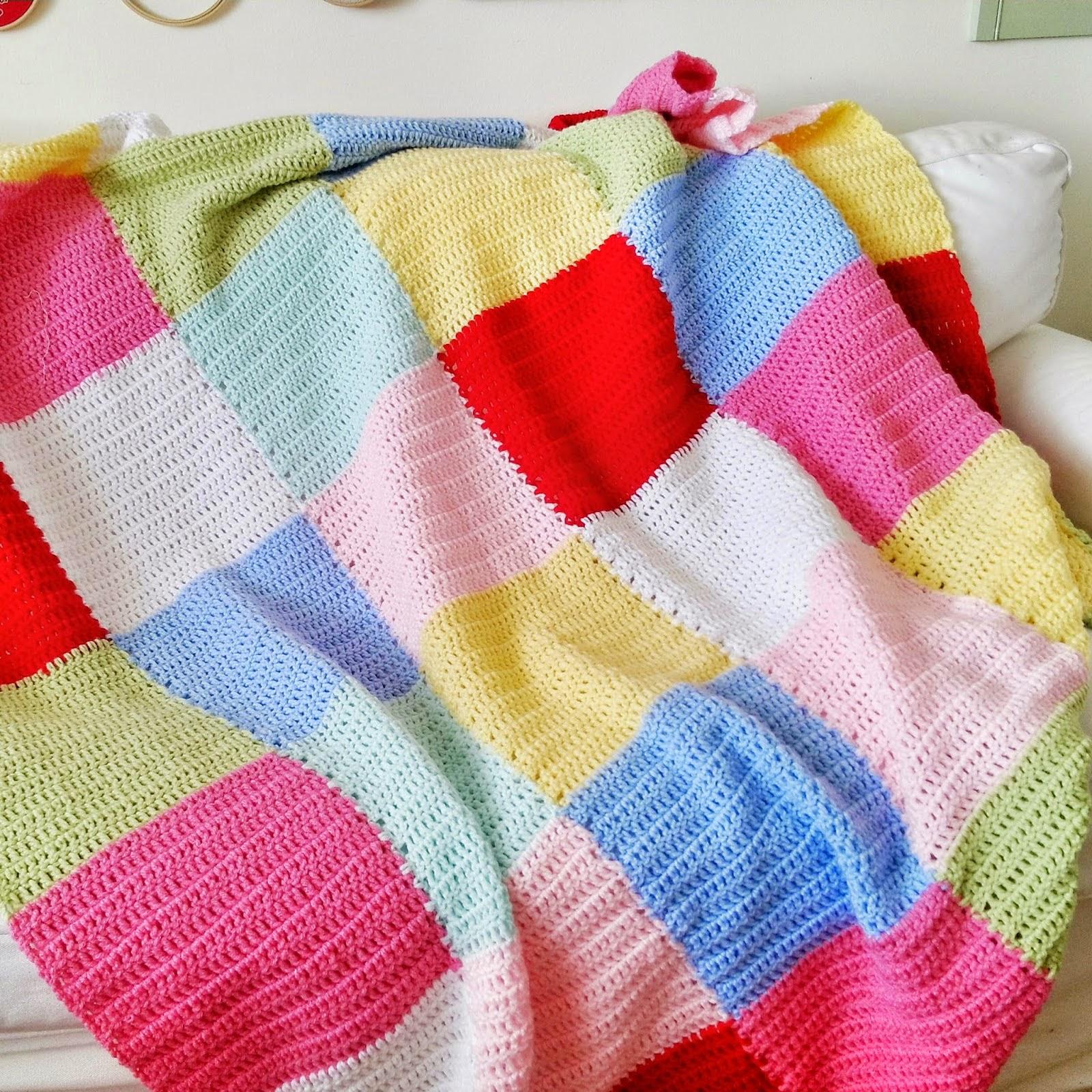 Puerta al sur delicada manta a crochet - Punto de ganchillo para mantas ...