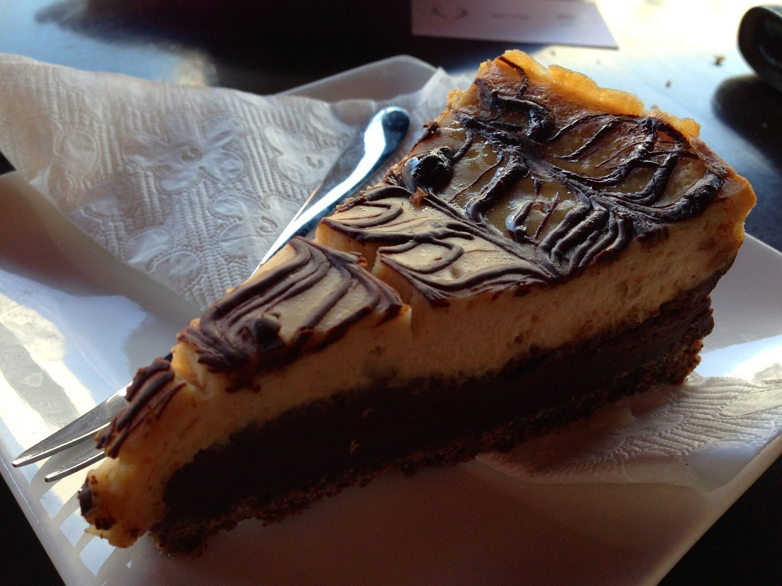 Peanut butter cheesecake - The Annex Cafe, Glenelg