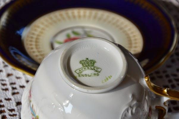 angielska stara porcelana