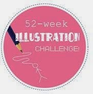 52 Week Illustration Challenge Participant