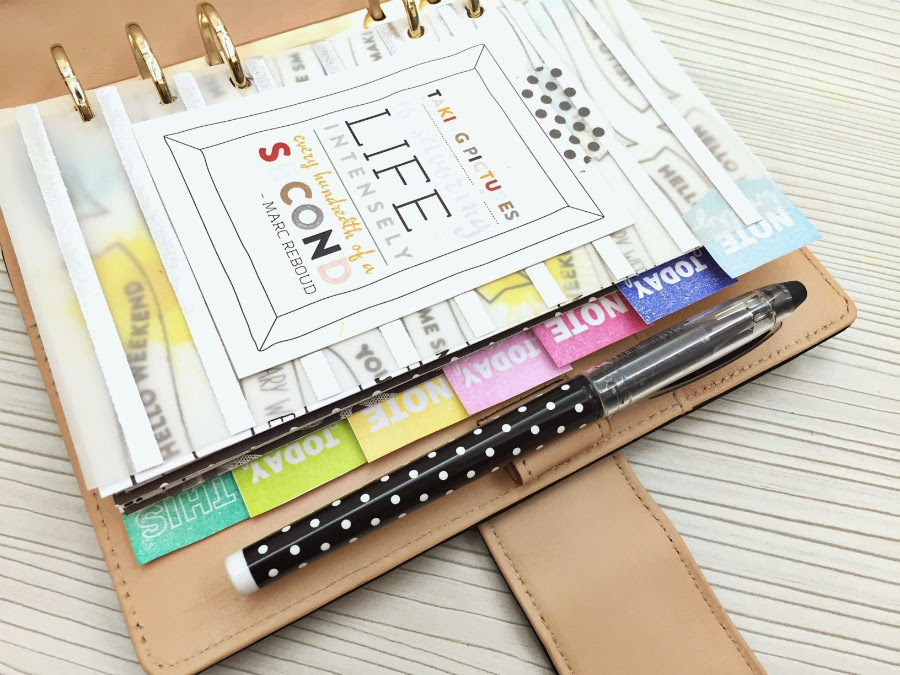 Happiness is scrappy planners how to make your own for Design my own planner