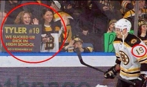 special message for ice hockey player