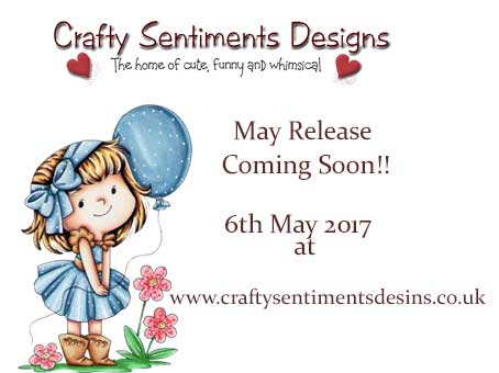 Crafty Sentiments Designs May New Release