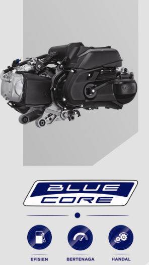125 cc High Performance Blue Core Yamaha All New GT 125