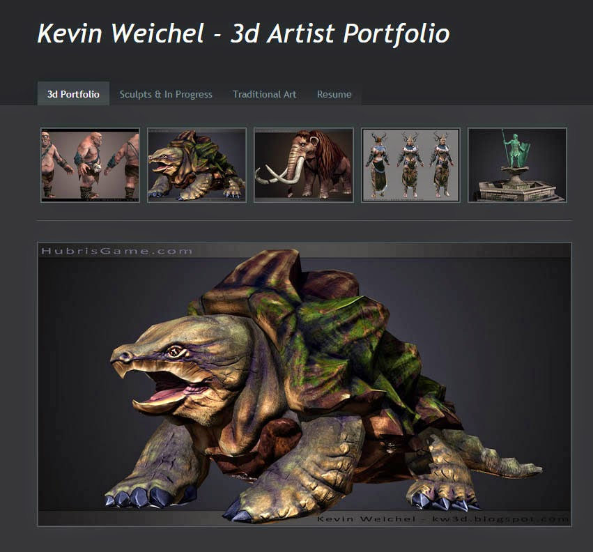 kevin weichel 3d artist cyclops almost done new