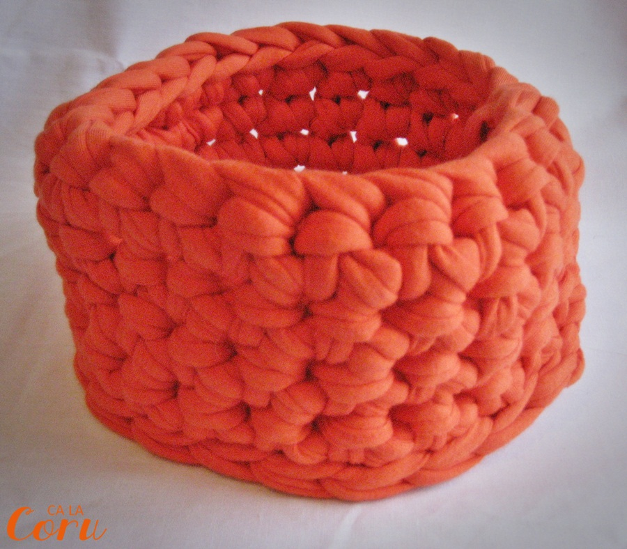 Tutorial cesta trapillo handbox craft lovers comunidad for Tutoriales de trapillo