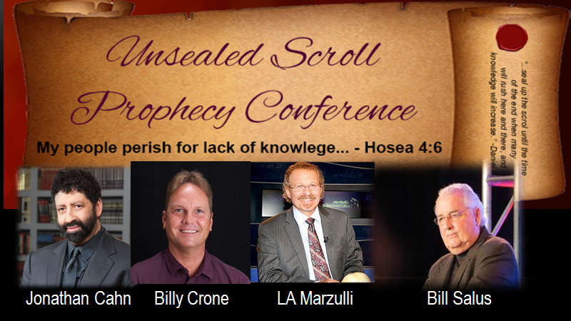Oct. 4-6 - The Unsealed Scroll Conference