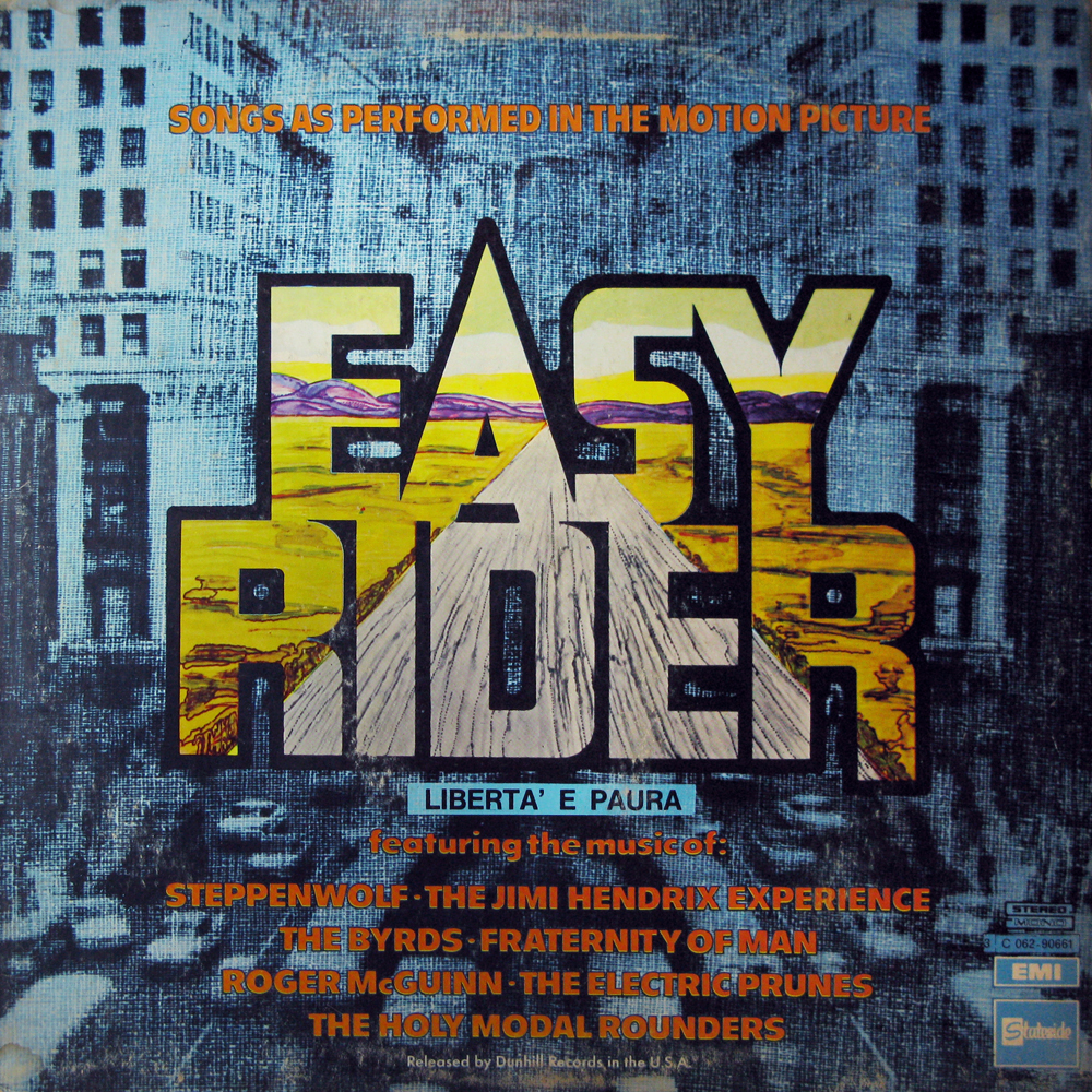 Iam A Rider Song: VINYL2496: Easy Rider: Music From The Soundtrack (VA