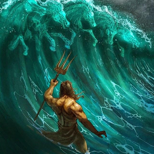 Percy Jackson's Greek Gods: Poseidón