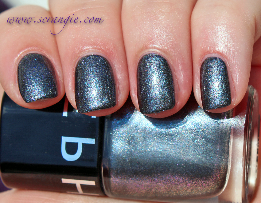 Scrangie: Sephora Color Hit Nail Polish in Blackjack Swatches and Review