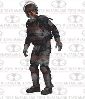 McFarlane Toys The Walking Dead Series 4 - Riot Gear Zombie Figure