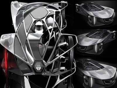 Konsep Mobil masa depan