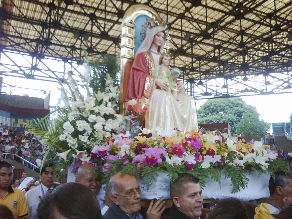 VENEZUELA PROTEGIDA POR NUESTRA SANTISIMA MADRE DE DIOS