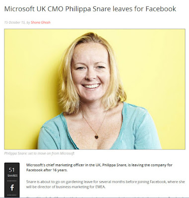 Microsoft UK SMO Philippa Snare