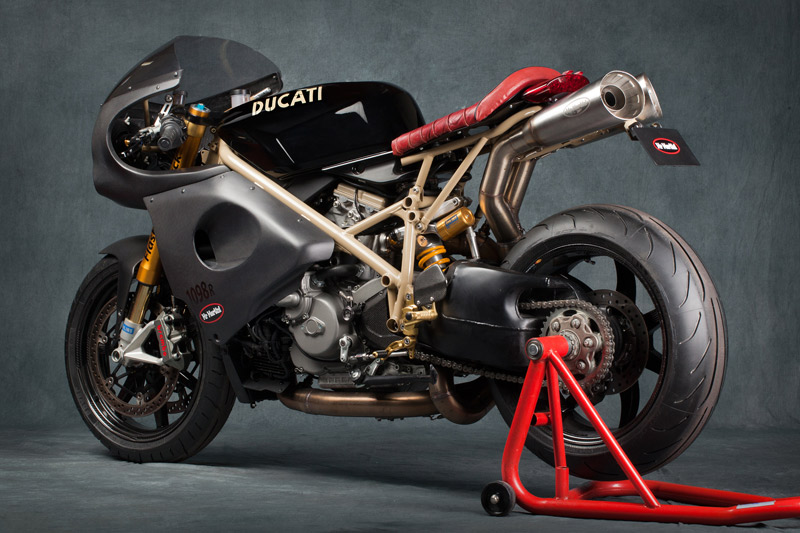Racing Caf U00e8  Ducati 1098 R  U0026quot Flash Back U0026quot  By Mrmartini