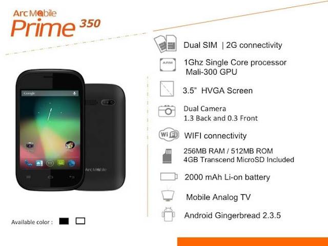 Arc Mobile Prime 350
