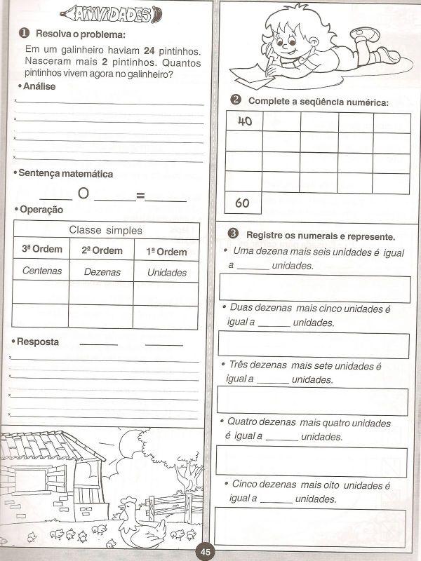 ATIVIDADES MATEM  TICA 3   ANO FUNDAMENTAL EXERC  CIOS IMPRIMIR  XI