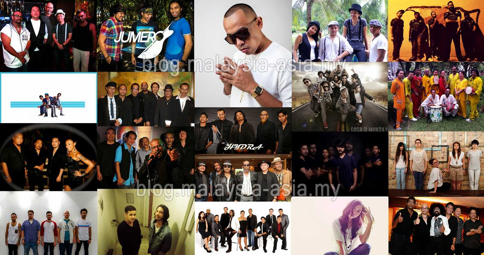 MyMusicFest 2015 Bands and Artist